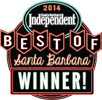 2014 Winner Best Of Santa Barbara Independent
