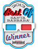 2012 Winner Best Of Santa Barbara Independent